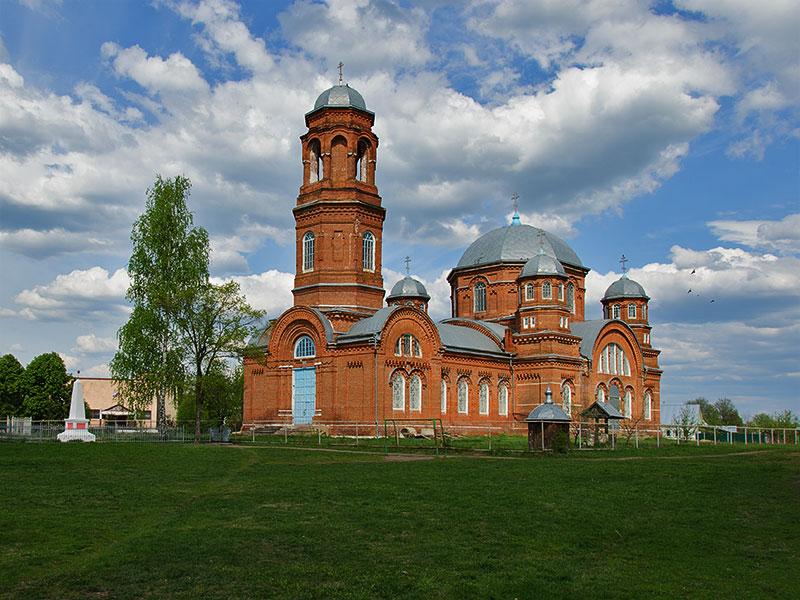 Церковь Воскресения Словущего-Серповое-Моршанский район-Тамбовская область