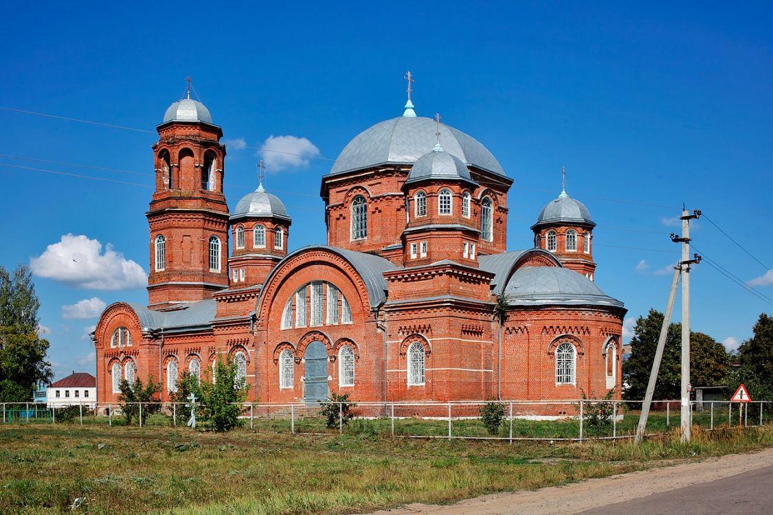 Церковь Воскресения Словущего, Серповое