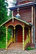 Церковь Воскресения Христова - Андомский погост - Вытегорский район - Вологодская область