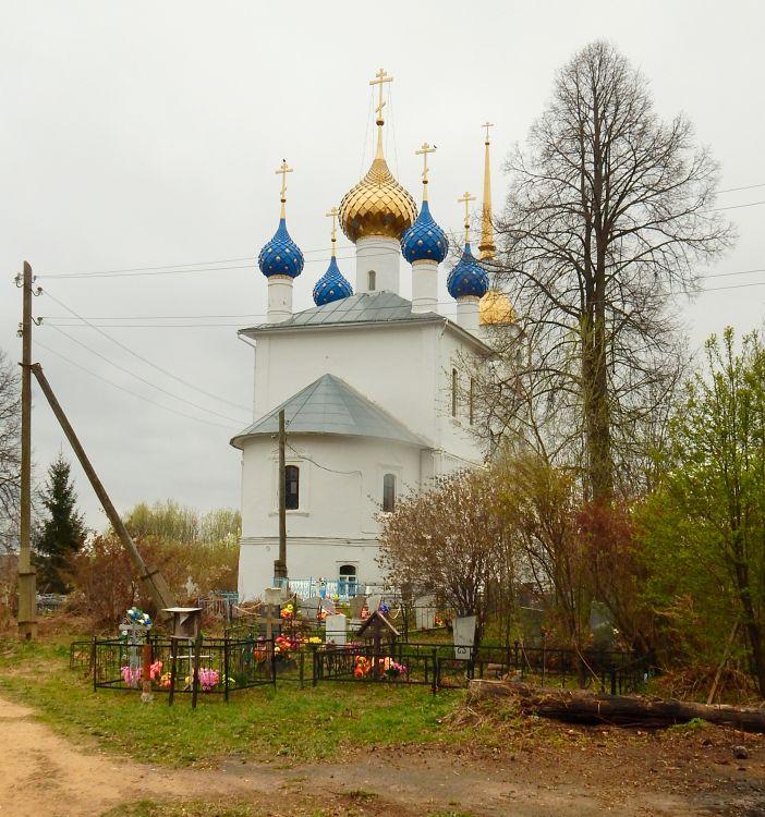 Церковь Воскресения Христова, Воскресенское (Шубино)