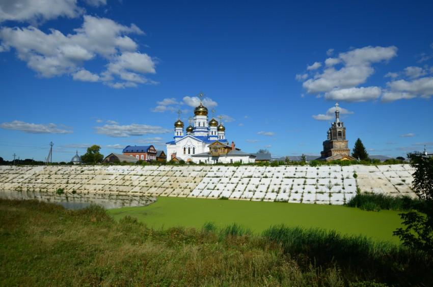 Тихвинский Богородицкий женский монастырь-Цивильск-Цивильский район-Республика Чувашия