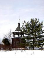 Колокольня церкви Флора и Лавра - Цивозеро - Красноборский район - Архангельская область