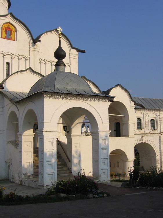 Покровский женский монастырь. Собор Покрова Пресвятой Богородицы, Суздаль