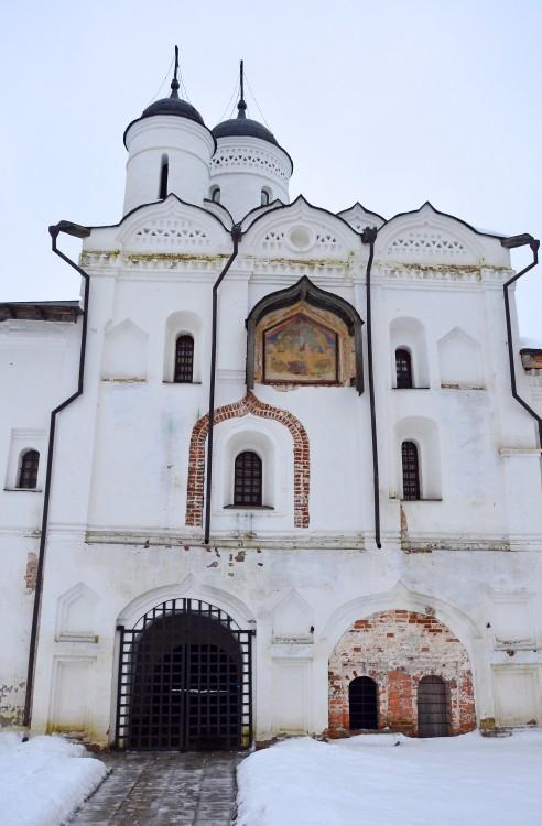Кирилло-Белозерский монастырь. Церковь Спаса Преображения, Кириллов
