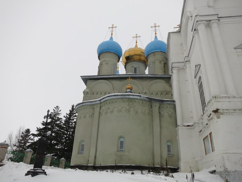 Покровский Авраамиево-Городецкий монастырь. Церковь Покрова Пресвятой Богородицы, Ножкино