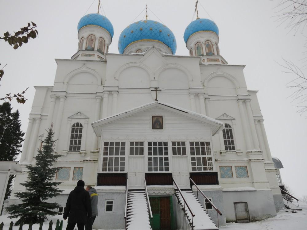 Покровский Авраамиево-Городецкий монастырь. Собор иконы Божией Матери