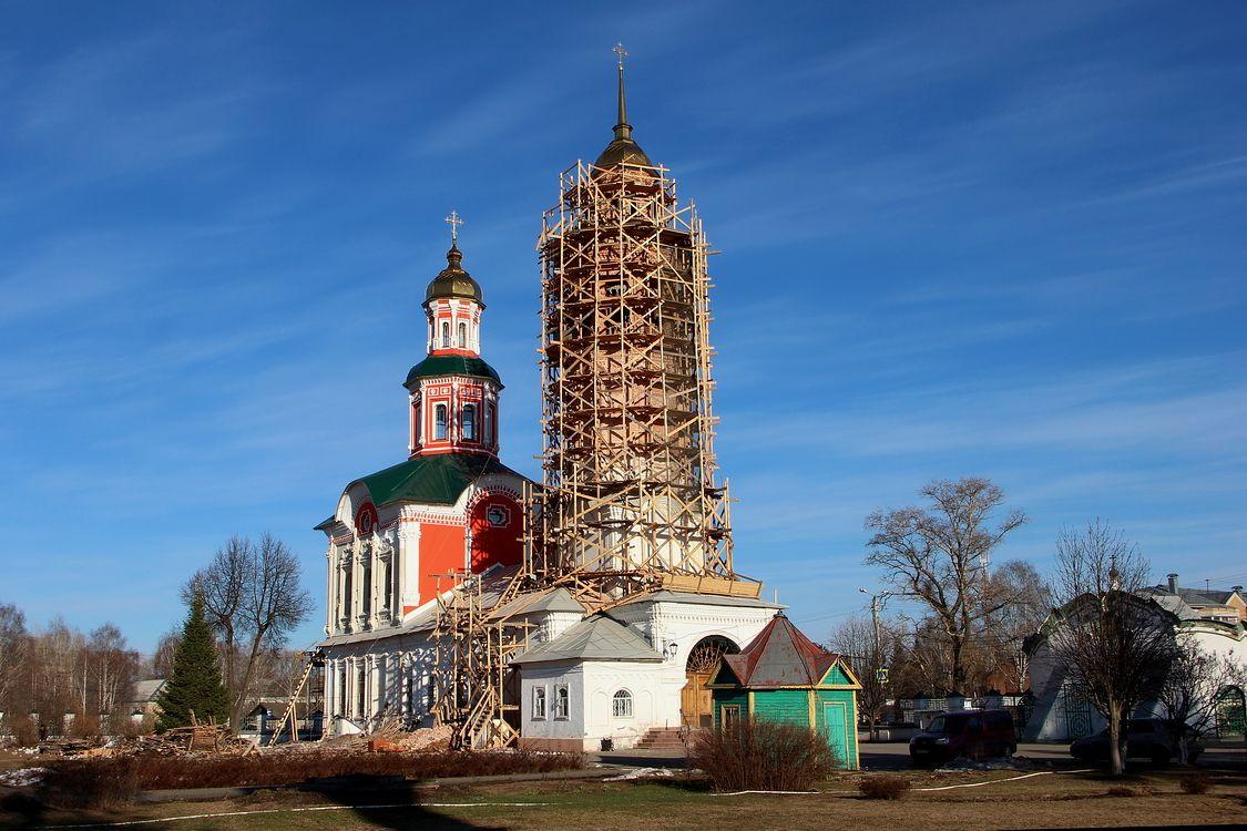 Троицкий Александро-Невский монастырь. Церковь Троицы Живоначальной, Вятка (Киров)