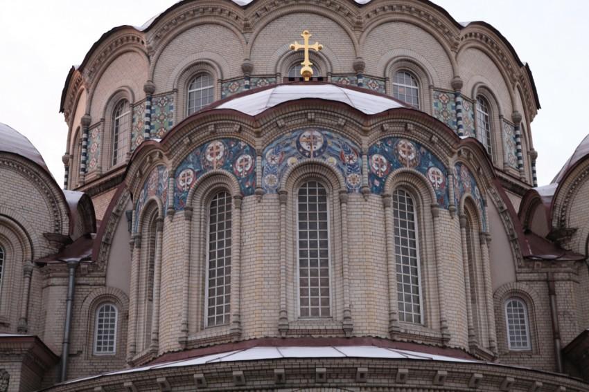 Воскресенский Новодевичий Монастырь. Церковь Казанской иконы Божией Матери, Санкт-Петербург