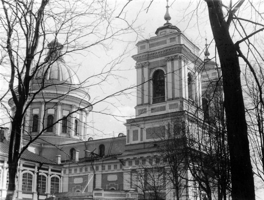 Троицкая Александро-Невская лавра. Собор Троицы Живоначальной, Санкт-Петербург