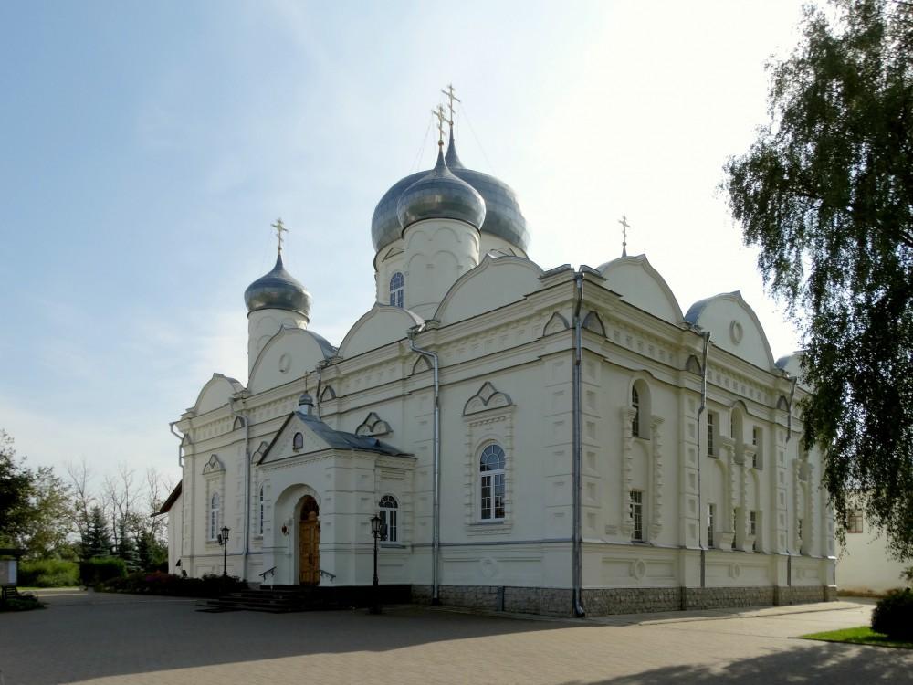 Зверин монастырь. Собор Покрова Пресвятой Богородицы, Великий Новгород
