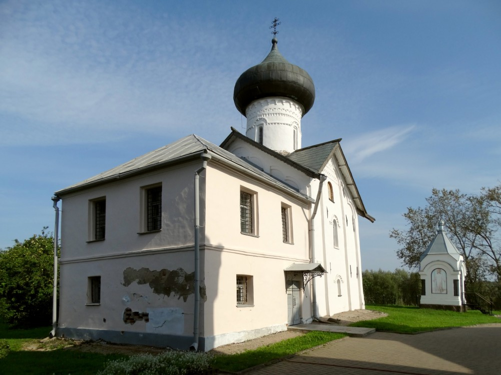 Зверин монастырь. Церковь Симеона Богоприимца, Великий Новгород