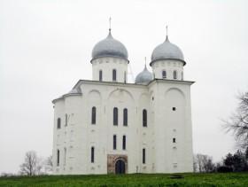 Собор святого георгия юрьева монастыря новгород