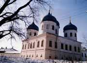 Юрьев мужской монастырь. Собор Воздвижения Креста Господня - Юрьев - г. Великий Новгород - Новгородская область