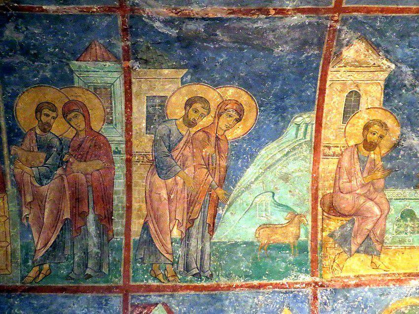 Спасо-Преображенский Мирожский монастырь. Собор Спаса Преображения, Псков