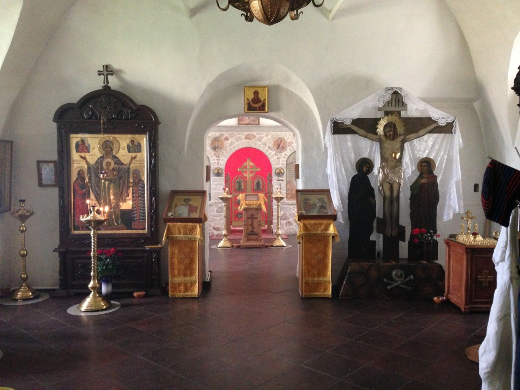 Спасо-Преображенский Мирожский монастырь. Церковь Стефана архидиакона, Псков