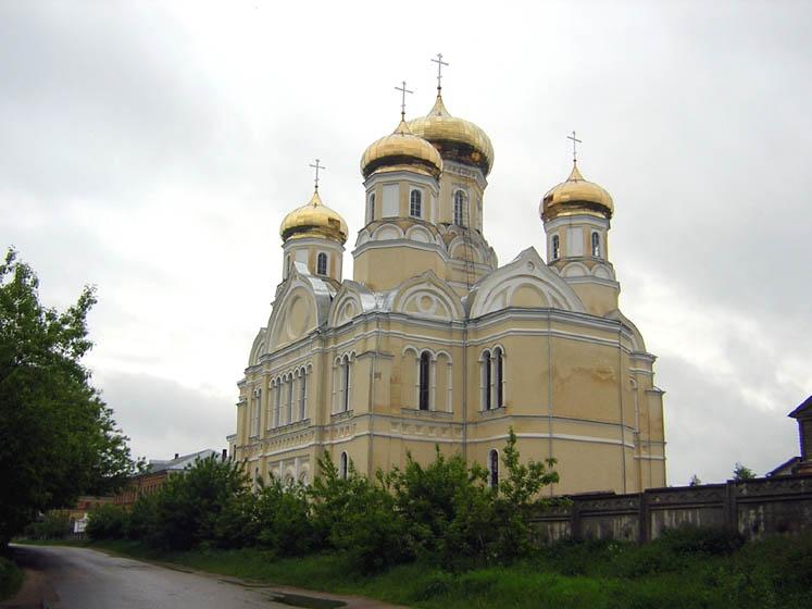Казанский монастырь. Церковь Андрониковой иконы Божией Матери, Вышний Волочёк