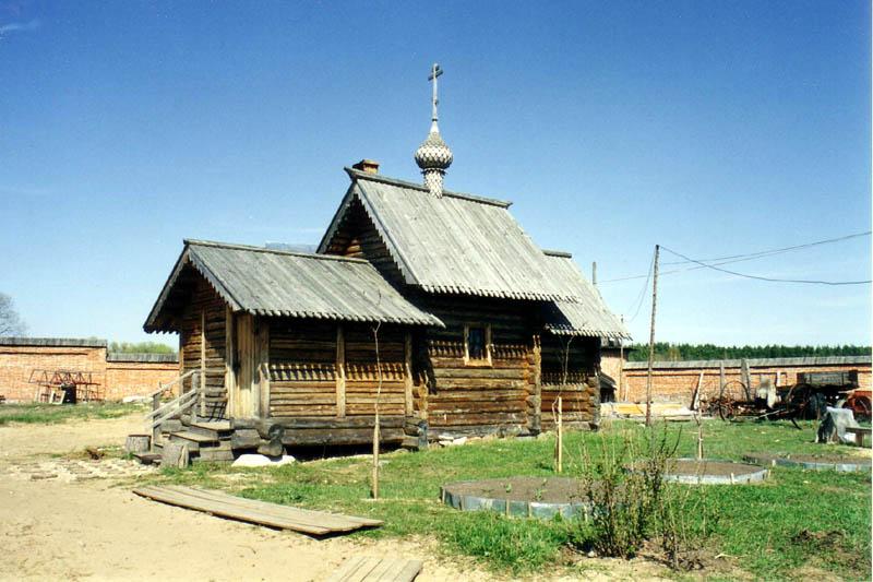 Вознесенский Оршин женский монастырь. Церковь Савватия Оршинского, Орша
