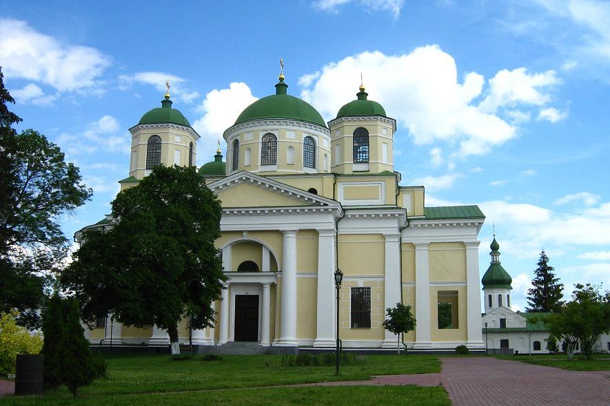 Спасо-Преображенский монастырь. Собор Спаса Преображения, Новгород-Северский