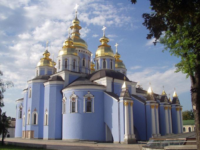 Михайловский Златоверхий монастырь. Собор Михаила Архангела, Киев