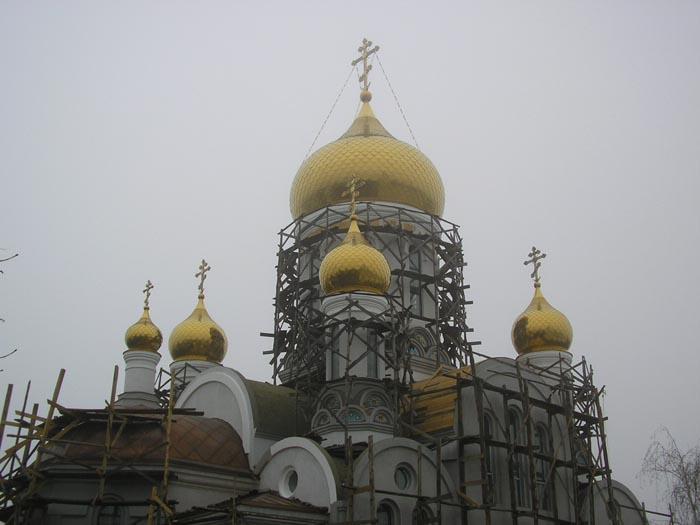 Иверский Одесский мужской монастырь. Церковь Серафима Саровского, Одесса