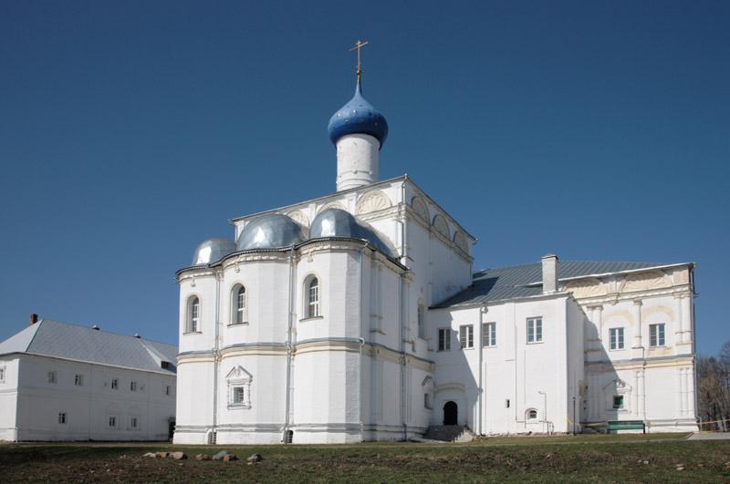 Церковь Похвалы Божией Матери Свято-Троицкий Данилов монастырь Переславль-Залесский фотографии