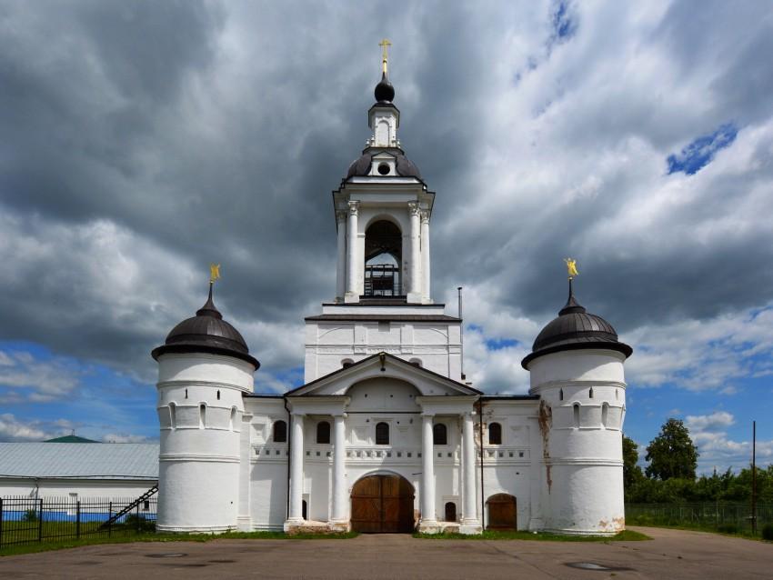 Авраамиевский Богоявленский монастырь. Церковь Николая Чудотворца, Ростов