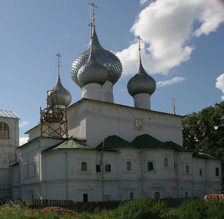 Воскресенский монастырь. Собор Воскресения Христова, Углич