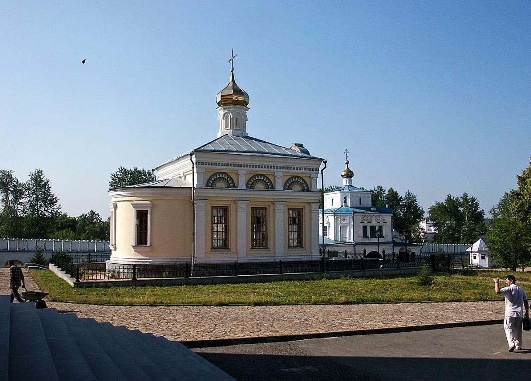 Николаевский мужской монастырь. Церковь Николая Чудотворца, Верхотурье