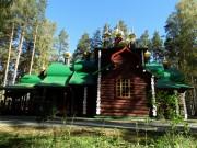 Ганина Яма. Монастырь Святых Царственных Страстотерпцев. Церковь Николая Чудотворца
