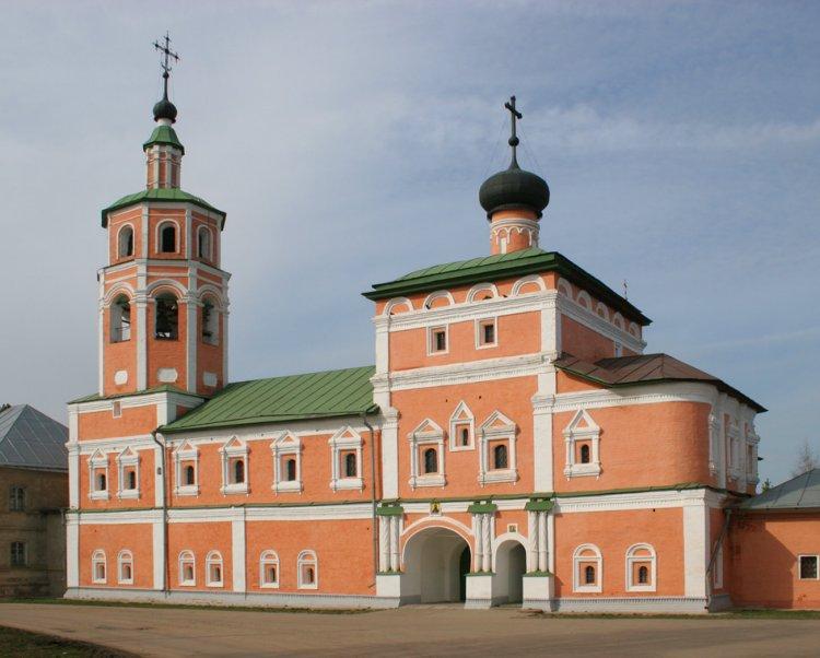 Монастырь Иоанна Предтечи. Церковь Вознесения Господня, Вязьма