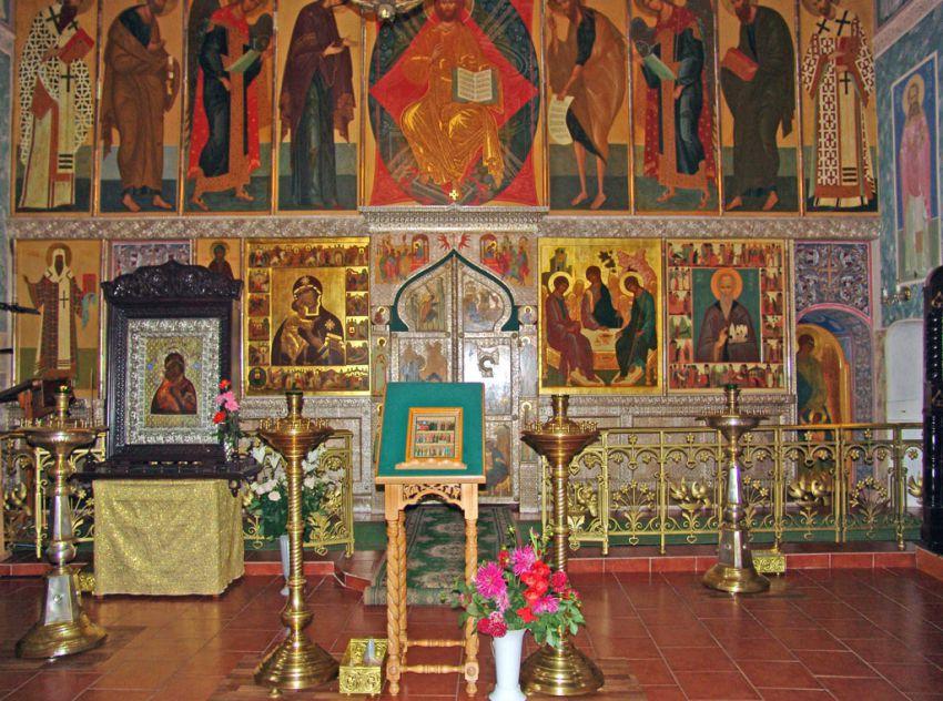 Троице-Сыпанов Пахомиево-Нерехтский женский монастырь. Собор Троицы Живоначальной, Троица