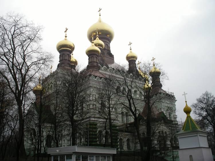Покровский женский монастырь. Собор Николая Чудотворца, Киев