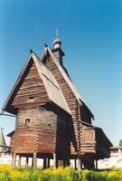 Музей деревянного зодчества. Церковь Спаса Преображения из с. Спас-Вежи - Кострома - г. Кострома - Костромская область