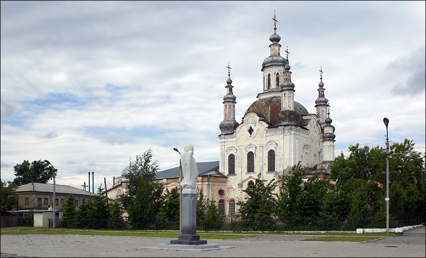 Шадринск. Собор Спаса