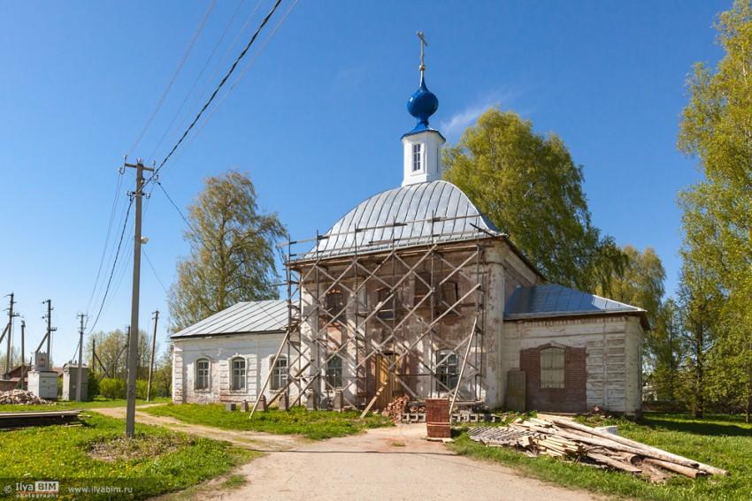 Церковь Воскресения Христова, Судай