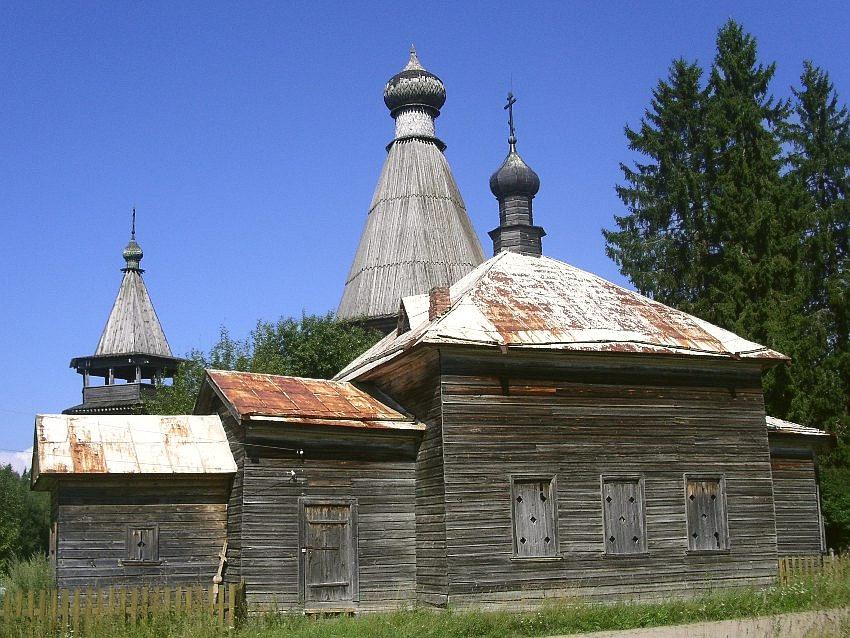 Церковь Илии Пророка, Согиницы