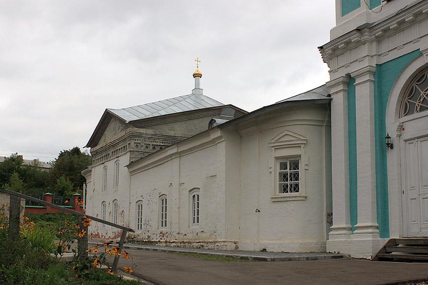 Знаменский женский монастырь. Церковь иконы Божией Матери