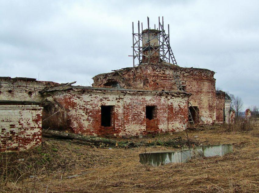 Церковь Всех Святых-Дунилово-Шуйский район-Ивановская область