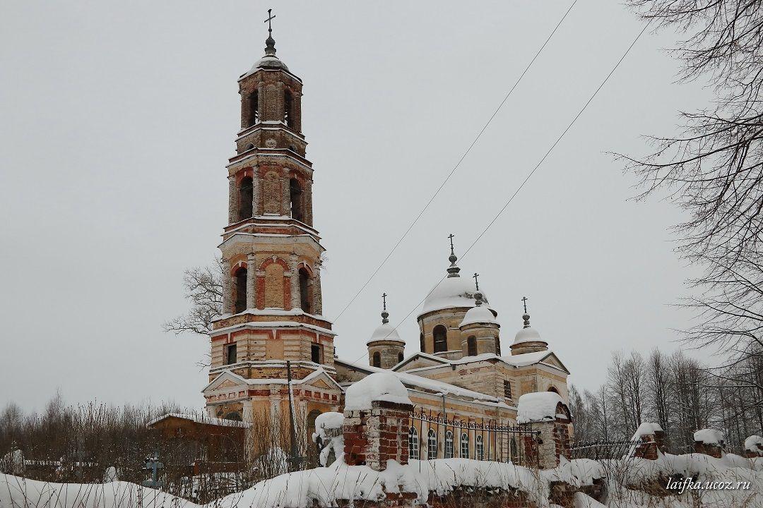 Церковь Воскресения Христова, Воскресенское Старое