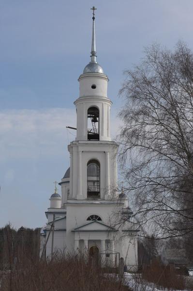 Церковь Вознесения Господня, Раменье