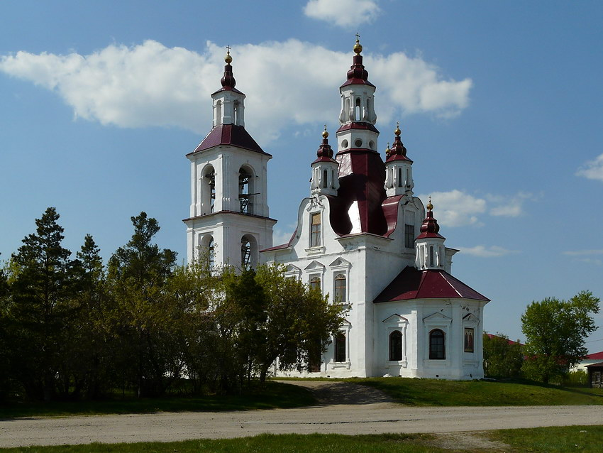Церковь Флора и Лавра, Белоярское