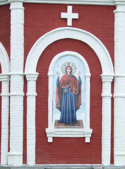 Спасский мужской монастырь. Часовня иконы Божией Матери