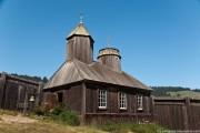 Часовня Троицы Живоначальной - Форт-Росс, Калифорния - США - Прочие страны