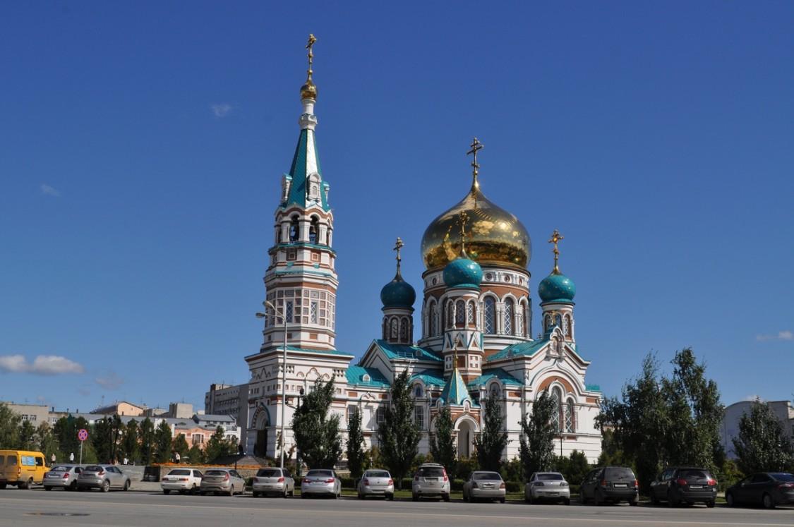 Кафедральный собор Успения Пресвятой Богородицы (воссозданный)-Омск-г. Омск-Омская область