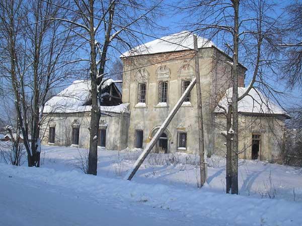 Церковь Рождества Иоанна Предтечи-Любим-Любимский район-Ярославская область