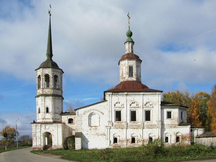 Церковь Илии Пророка, Великий Устюг