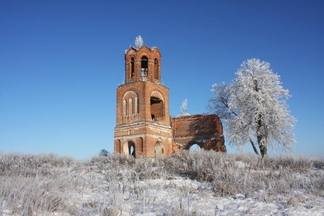 Церковь Николая Чудотворца, Лихачёво, урочище