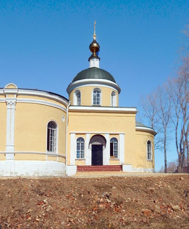 Церковь Николая Чудотворца, Никольское (Волковского с/о - бывш. Никольское-Долгоруково)