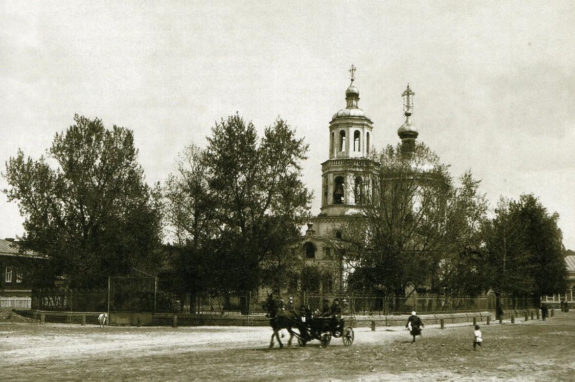 Церковь Тихвинской иконы Божией Матери в Старотатарской слободе, Казань