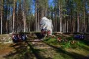 Часовня Георгия Победоносца - Сандармох - Медвежьегорский район - Республика Карелия